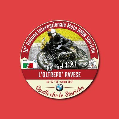Logo per la manifestazione BMW Storiche Motoclub di Vicenza