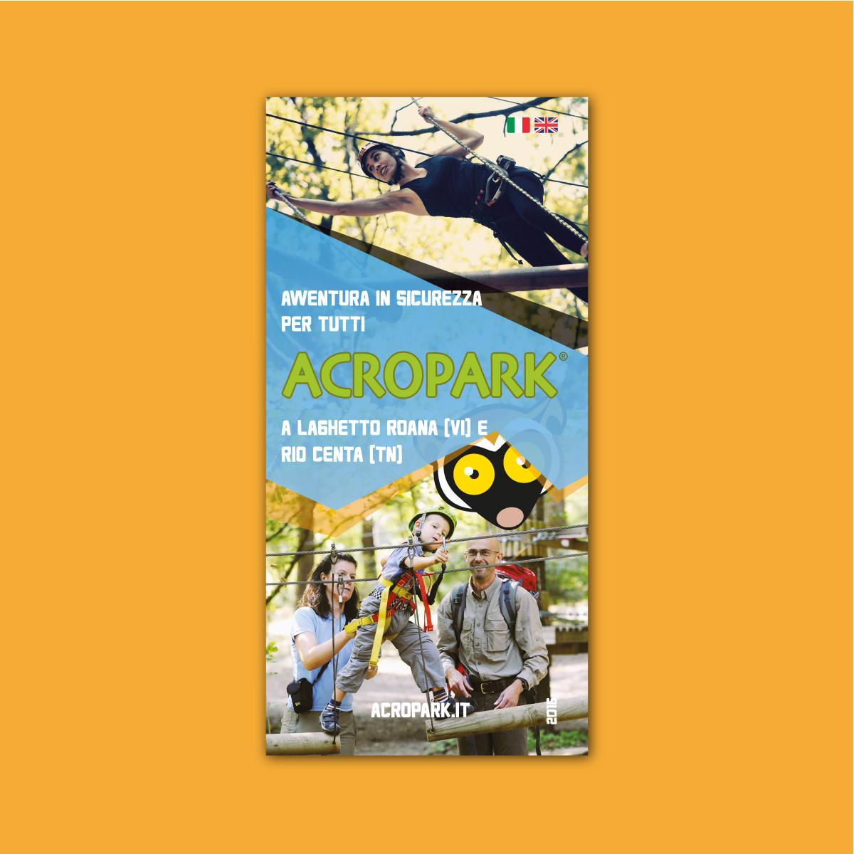 Copertina della brochure Acropark