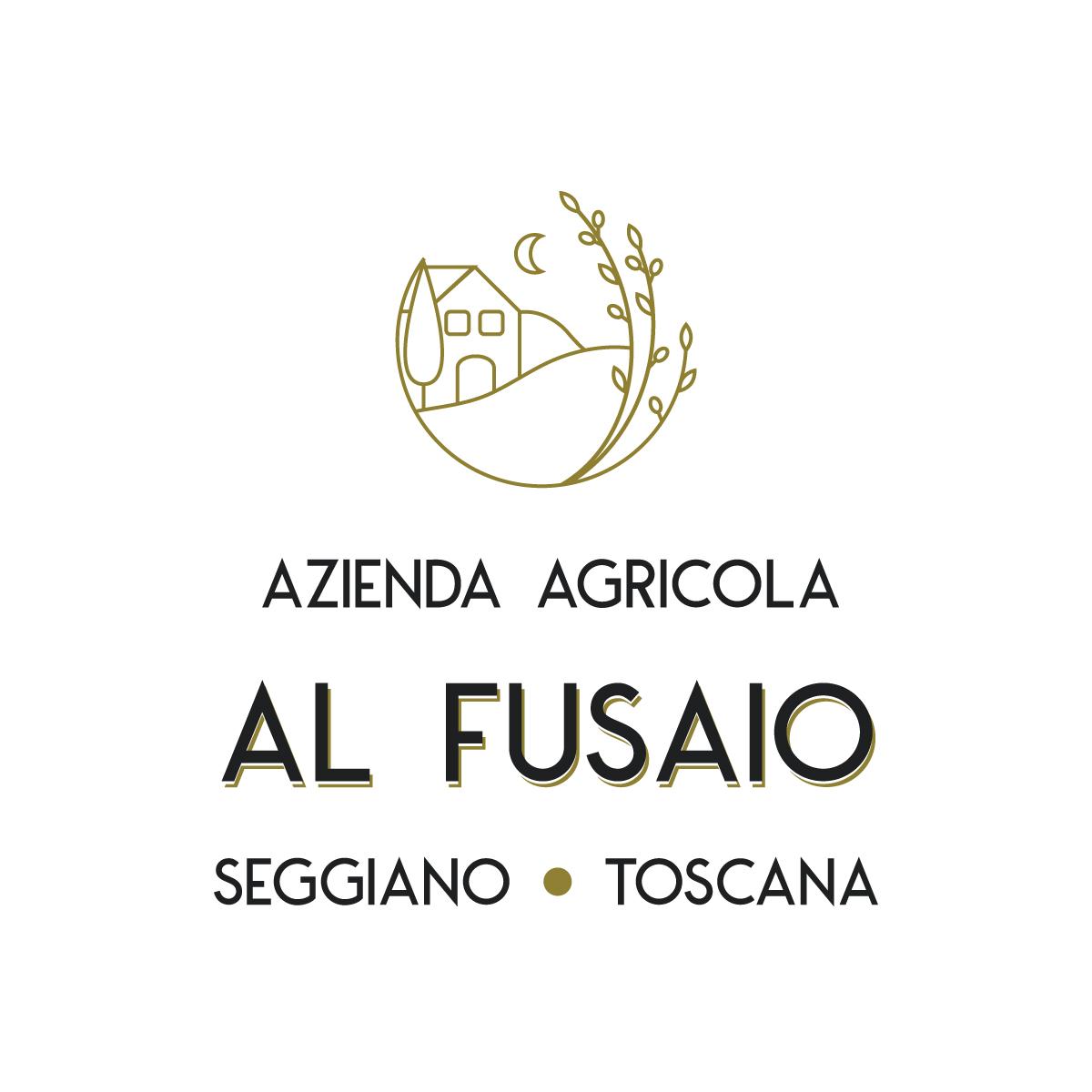 Logo Design azienda agricola al fusaio